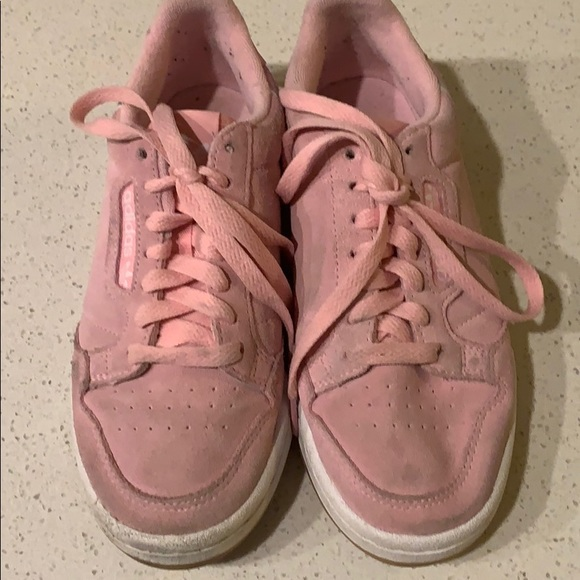 adidas Shoes | Pink Suede Size 6 Womens